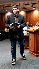 Mark Lee Dickson, director of Right to Life of East Texas, spoke at Thursday's Abilene City Council meeting.