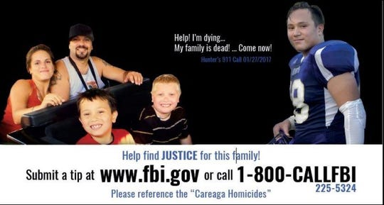 A billboard in the Bremerton area seeks information relating to the murders of members of the Careaga family.