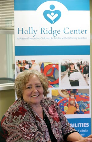 Holly Ridge Center executive director Roxanne Bryson at the Holly Ridge Adult Employment Services building in Bremerton on Friday, Jan. 24, 2020.