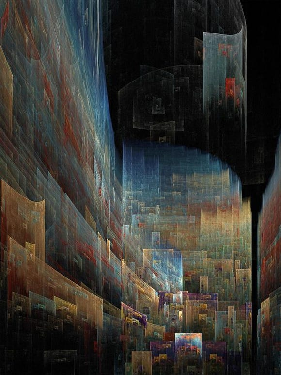 """Pamela Dick of Poulsbo topped the Photo/Digital Arts competition with """"City Scape."""""""