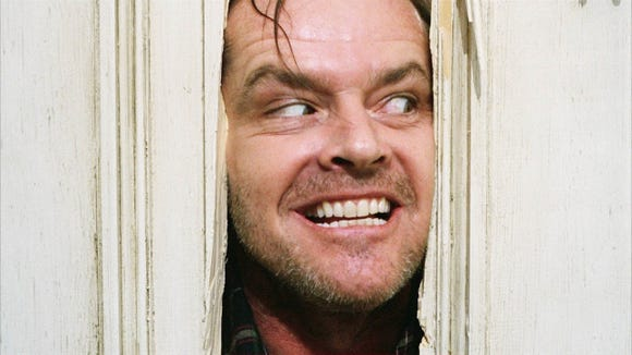 """Heeere's Jackie! Jack Nicholson stars in the 1980 horror classic """"The Shining,"""" which screens Jan. 31 at the Admiral Theatre in Bremerton."""