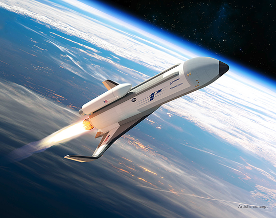 A rendering of Boeing's Experimental Spaceplane, or XSP.