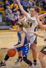 Wynford's Rylee Alspach and Colonel Crawford's Allison Teglovic both picked up First Team All-T-F honors.