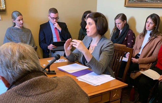 Rebecca Bell, MD, of UVM Children's Hospital, hopes to continue lobbying for the bill in the House when the Legislature reconvenes in January 2020.
