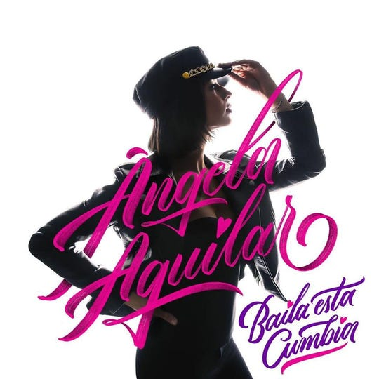 """Baila Esta Cumbia,"" a Selena tribute album by Mexican-American singer Ángela Aguilar, will be available on digital platforms on Jan. 31."