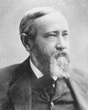 President Benjamin Harrison gave Cape May's Congress Hall its identity as the 'summer White House.'