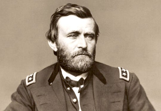 President Ulysses S. Grant was celebrated on his trips to Cape May. The former general was greeted by 'the booming of a cannon.'