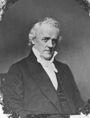 James Buchanan visited Cape May for health reasons after his presidency.