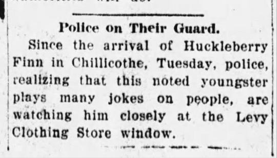 A small article from the Jan. 13, 1920 Gazette.