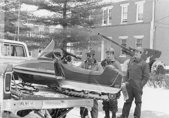 In January 1978, a list of people with four-wheel drive vehicles or those who could help out in an emergency was compiled.