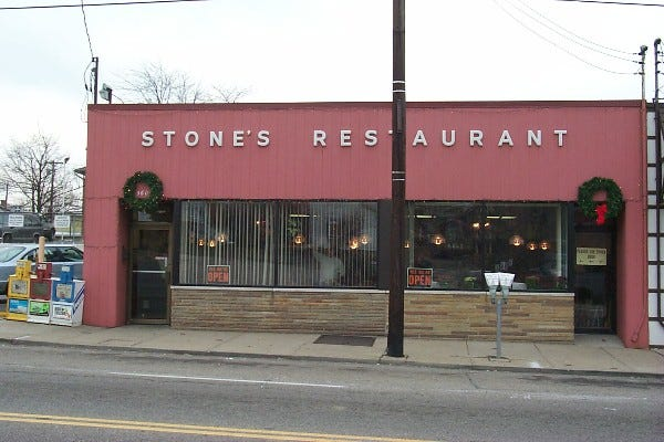 Saturday, Jan. 25 is your last chance to eat at Stone Restaurant in Cheviot.