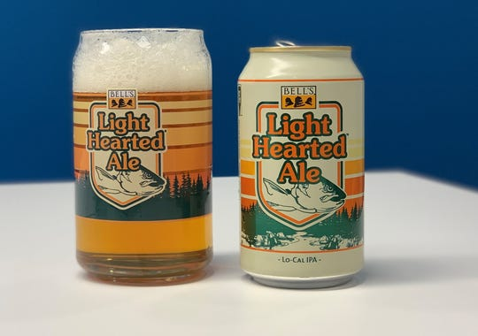 Bell's Brewery's Light-Hearted Ale is 3.7% ABV with 110 calories and 9 grams of carbohydrates per 12-oz. serving.