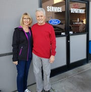 Elaine and Hershel Cecil went to their Ford dealership in Lake Havasu City, Arizona, on Friday. Their 2013 Ford Focus had its clutch fixed  again. The longtime Ford buyers say they've had enough after eight transmission repairs.