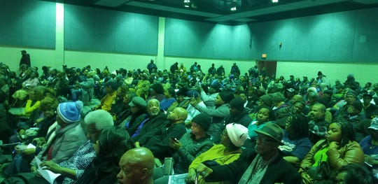 More than 500 Detroit home owners upset about over-taxation attended a meeting  at Considine Recreation Center at Little Rock Baptist Church in Detroit last Thursday.