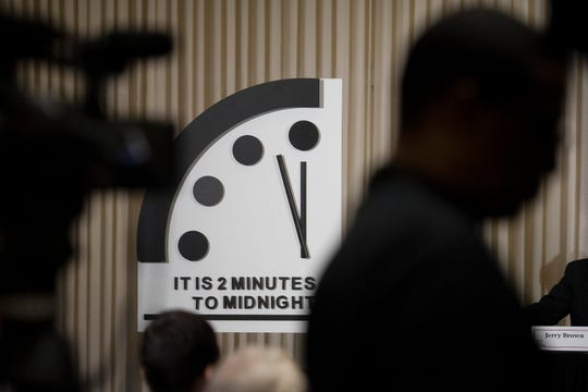 Doomsday Clock Moves Closest To Midnight In 73 Year History