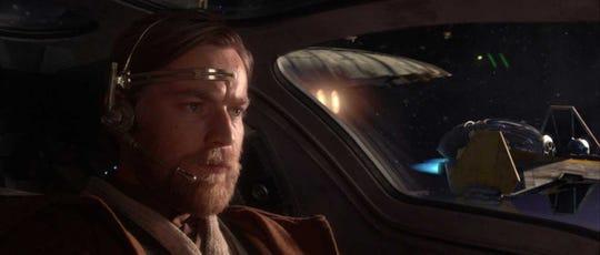 """Ewan McGregor as Obi-Wan Kenobi in 2005's """"Star Wars: Revenge of the Sith."""""""