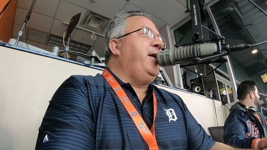 Jay Allen worked one season as the Tigers' P.A. announcer.