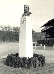 A monument has been erected in honor of Edward Joseph Dunn.
