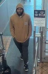 Evansville Police said this is one of the people suspected of passing counterfeit bills at the West Side Schnucks.