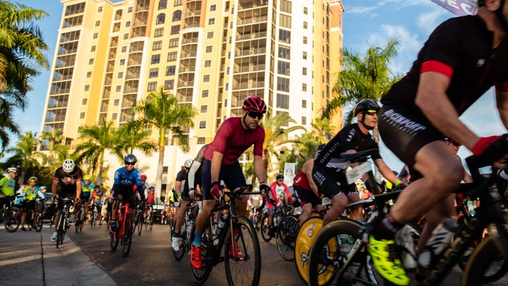 View scenes from the Tour De Cape on Sunday, Jan. 19, 2020 in Cape Coral.