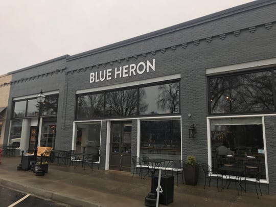 The Blue Heron is located at 134 Exchange St. in Pendleton, SC and opens at 4 p.m. everyday.