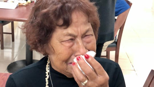 World War II survivor Florence Ninete Quitugua, 79, is overcome with emotions as she shares her and her family's experiences during the war and the long journey to get war reparations nearly 76 years later.