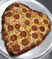 Rockhouse on the River will be offering heart-shaped pizzas during Valentines Day week.