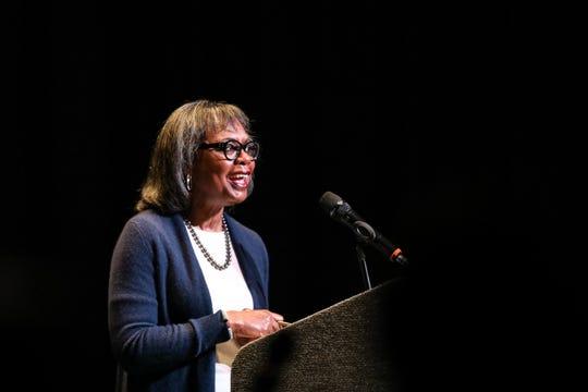 Anita Hill on Joe Biden in Iowa: 'The statute of limitations on apologies is up'