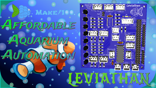 Brandon Schreiber's circuit board is called Leviathan after the mythical sea monster.
