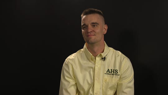 Zachary Welch, a teacher at Acadiana High School, is a finalist for the 2020 LEF Teacher Awards.