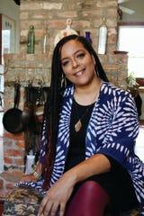 "Zella Palmer, author of ""Recipes and Remembrances of Fair Dillard."""