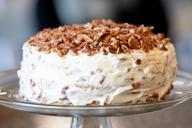 "Quick Italian Cream Cake is one of the desserts in ""Recipes and Remembrances of Fair Dillard."" (Courtesy  U Louisiana at Lafayette Press)"