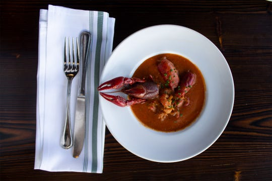 """Crawfish bisque is one of New Orleans dishes in """"Recipes and Remembrances of Fair Dillard."""" (Courtesy  U Louisiana at Lafayette Press)"""