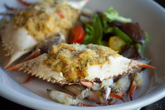 """Stuffed crabs are on one of the New Orleans dishes in """"Recipes and Remembrances of Fair Dillard."""" (Courtesy  U Louisiana at Lafayette Press)"""