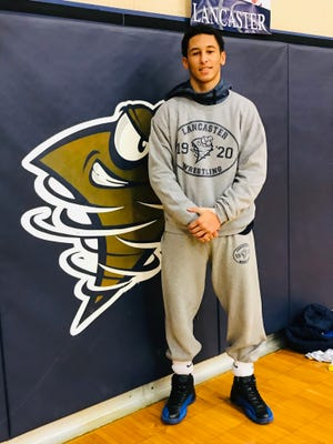 Lancaster junior Titan Johnson is having an outstanding season with 26 wins to his credit. He has had to fight through some adversity but it has made him stronger.