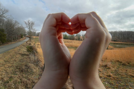 Courier Journal columnist Maggie Menderski looks for love near Love, Kentucky.