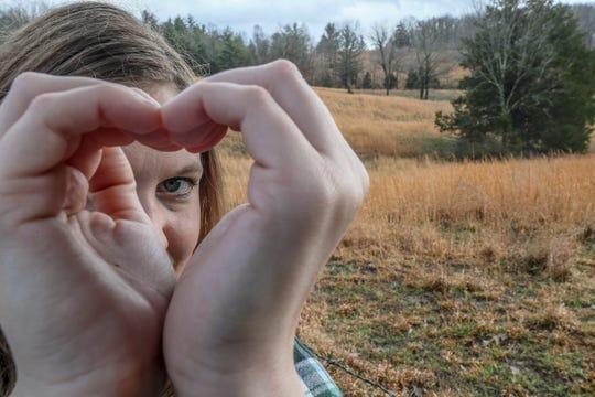 Courier Journal columnist Maggie Menderski looks for love near Love.