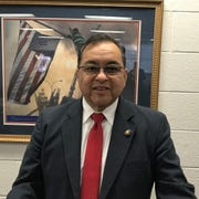 Joseph Galvan awarded the city of Lansing nearly $14 million to fight homelessness on behalf of HUD on Thursday, Jan. 23, 2020.