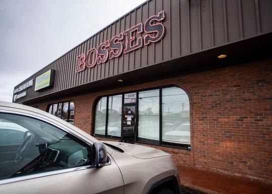 Bosses is at 5030 Poplar Ave.