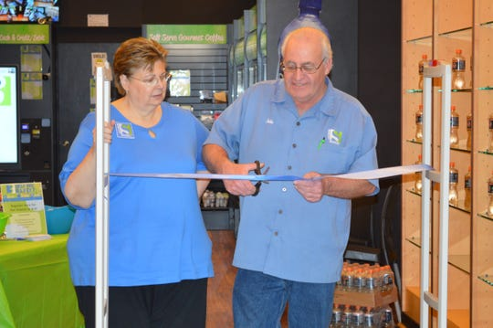 Serenity Market, owned by John Ward, will run the day-to-day operations of Three Square Self Pay Market at Brookfield Square. A ribbon-cutting ceremony was held Jan. 24 with John and Annamarie Ward.