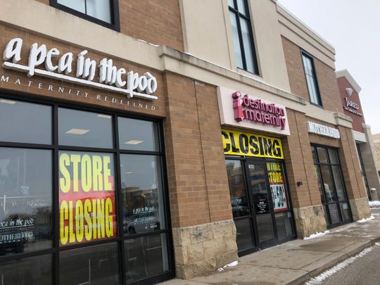 A manager at the Brookfield location of Destination Maternity said the store would be closed by the end of March.