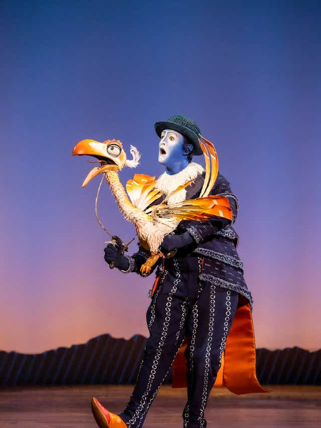 The Lion King Broadway Series Meet Animals And Their Zoo Doubles