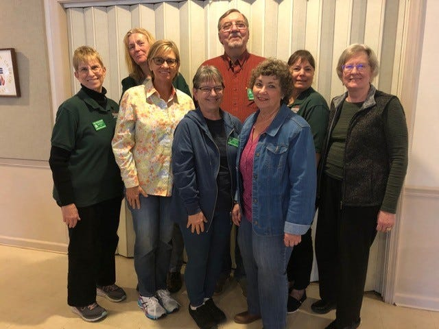 The Baxter County Master Gardeners recently selected their 2020 Board of Directors. They include (back row, from left) Jo Bracken, New Member At Large; Frank Sinning, Past President-Advisor; (middle row, from left) Jennifer Baker, Member at Large; Julie Stewart, VP Membership; Debra Legner, Secretary; Jane Druff, Treasurer; (front row, from left) Susan Chamberlain, President; and Ceil Gasiecki, VP Public Events and Outreach. Not pictured is Penny Wells, VP Community Gardens.