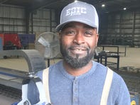Kelvin Jackson had to commute to Delhi for work until being hired by Epic Piping at its Lake Providence facility.