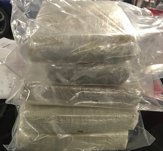 12 pounds of fentanyl seized on Jan. 23, 2020 in Nashville.