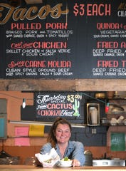 Mas Tacos Por Favor owner Teresa Mason during lunch in Nashville on Thursday, Jan. 24, 2020.