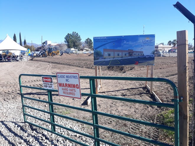 La Clinica de Familia broke ground on Thursday, Jan. 23, 2020, on a new, 10,000 square foot behavioral health facility, to be located at 515 S. Miranda St. in Las Cruces.