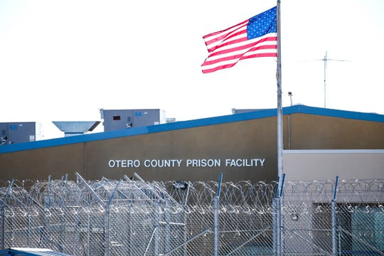 Otero County Prison Facility in Chaparral, New Mexico. Thursday, Jan. 23, 2020.