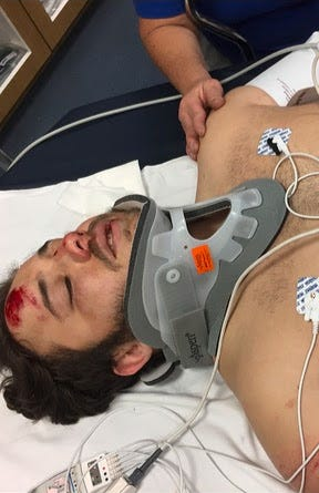 Jacob Vela was struck by a hit-and-run driver on Dec. 22, 2019.