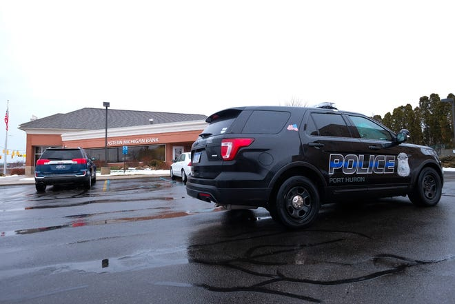 Police were called to the Eastern Michigan Bank on Water Street Friday afternoon.